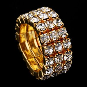 Strass-Ring Bella in Gold_3-Reiher