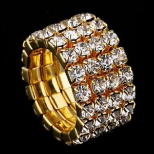 Strass-Ring Bella in Gold_4-Reiher